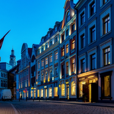 Stunning streets of Old Riga