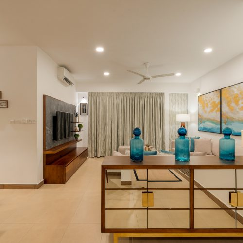 Apartment interior in De Fonseka road Aesthetics and Co