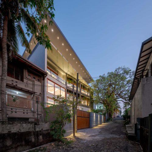 House in Thimbirigasyaya Residence Architect Kumudu Munasinghe