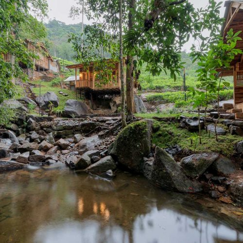 The Line දොඩo Villas - Bewaraliya, Deniyaya, Sri Lanka